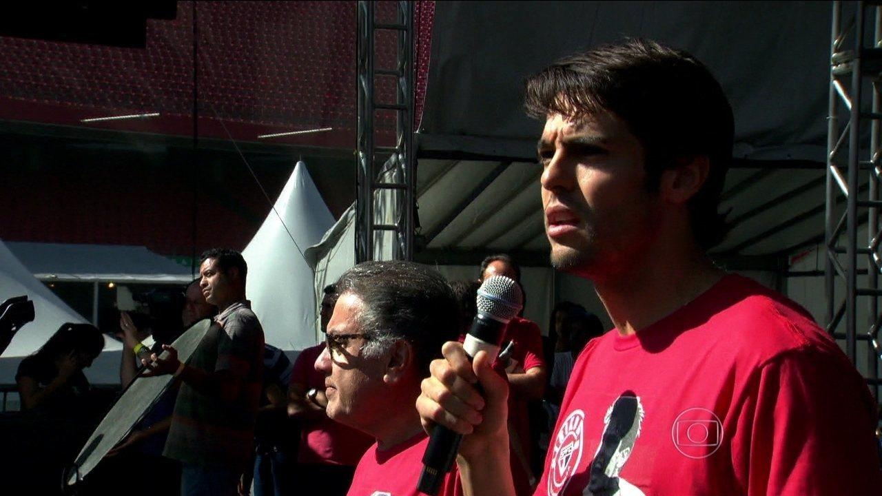 """Após 11 anos, Kaká volta ao São Paulo: """"Dia muito especial"""""""