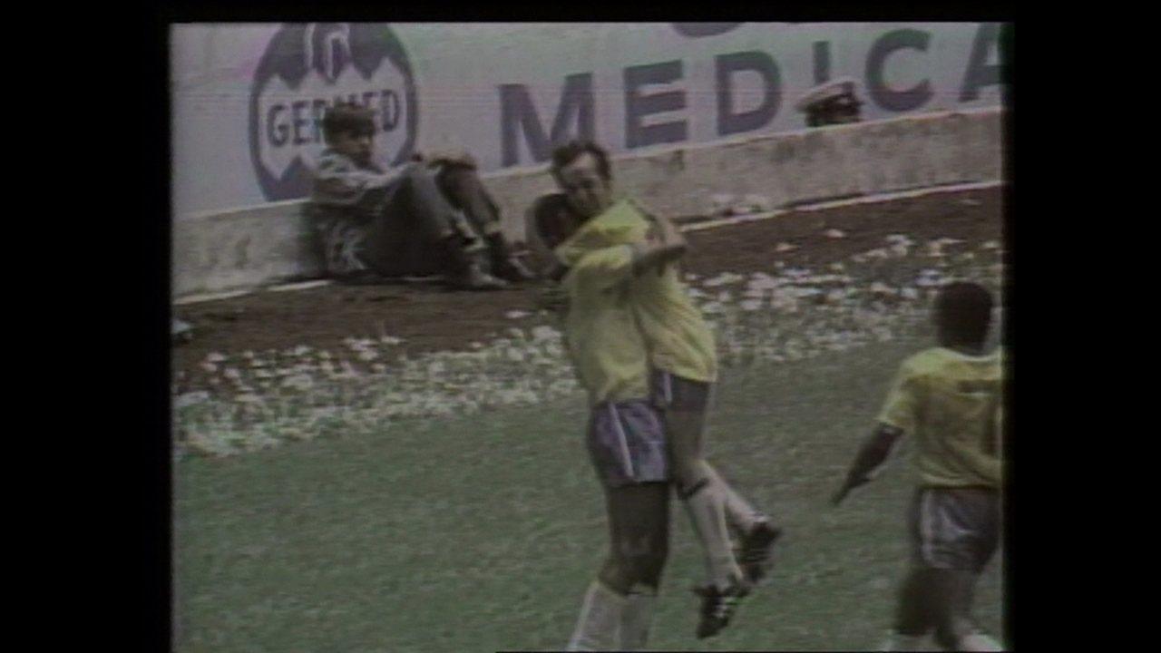 Em 1970, Brasil goleia a Itália por 4 a 1 pela final da Copa do Mundo