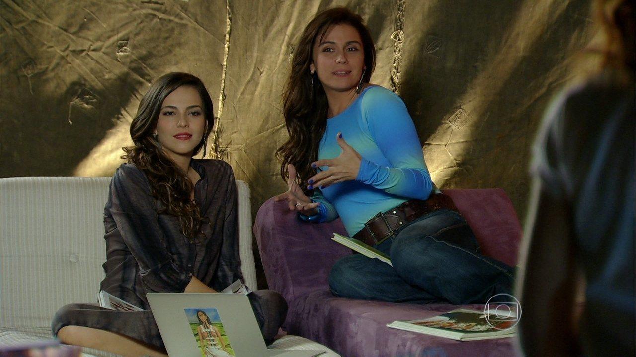 Em Família - Capítulo de sexta-feira, dia 11/07/2014, na íntegra - Marina e Clara fazem planos para o futuro
