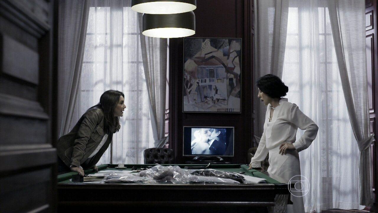 Capítulo de 08/08/2014 - Rosa pede para Gilda entregar o relógio que tirou de Bruno