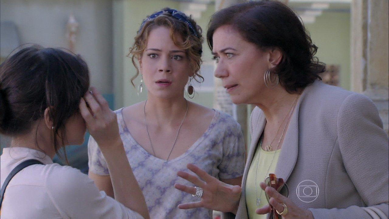 Império - Capítulo de segunda-feira, dia 11/08/2014, na íntegra - Maria Marta oferece dinheiro a Cristina