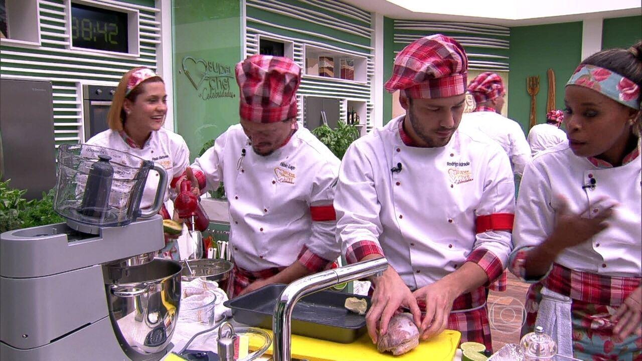 Mais voc confira como foi a primeira prova de imunidade - Super chef 2000 ...