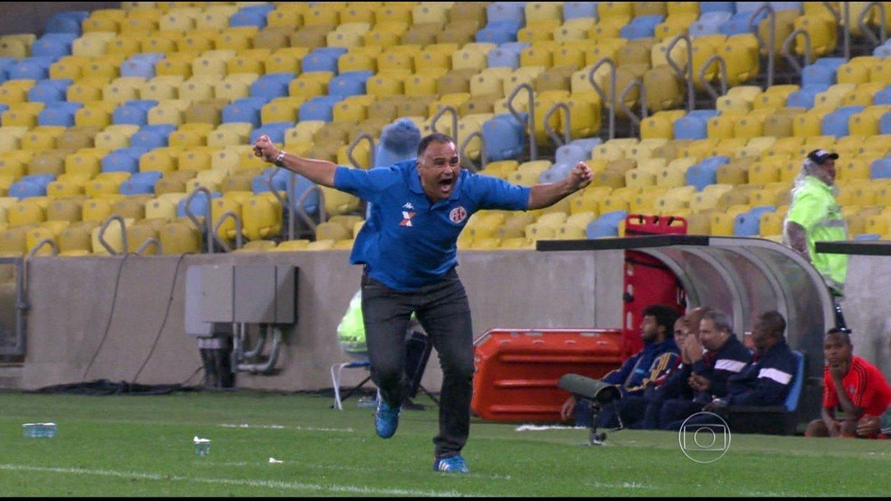 De virada, América-RN vence Fluminense por 5 a 2, no Maracanã, e avança na Copa do Brasil