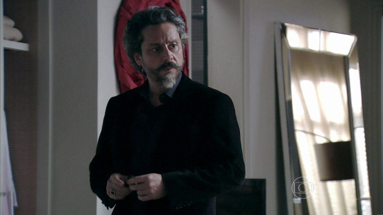 Império - Capítulo de sexta-feira, dia 15/08/2014, na íntegra - José Alfredo flagra Magnólia na casa de Maria Isis