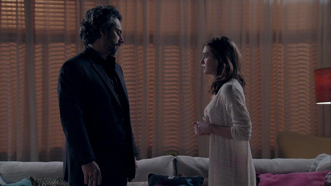 Império - Capítulo de quinta-feira, dia 21/08/2014, na íntegra - Isis comenta com José Alfredo que gostaria de ser sua esposa