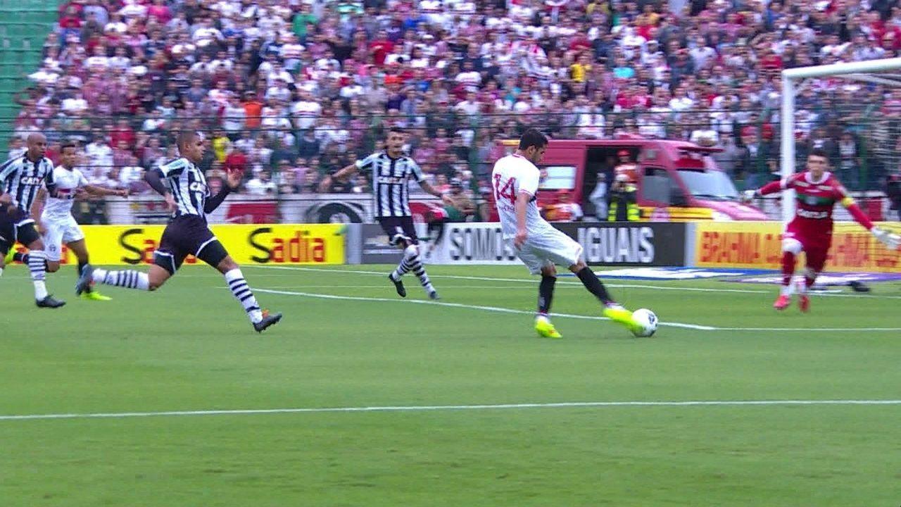 Melhores momentos de Figueirense 1 x 1 São Paulo, pela 18ª rodada do Brasileirão 2014