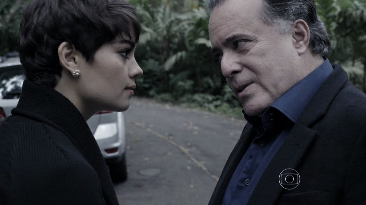 Capítulo de 04/09/2014 - Braga conversa com Duda e deixa a jovem irritada