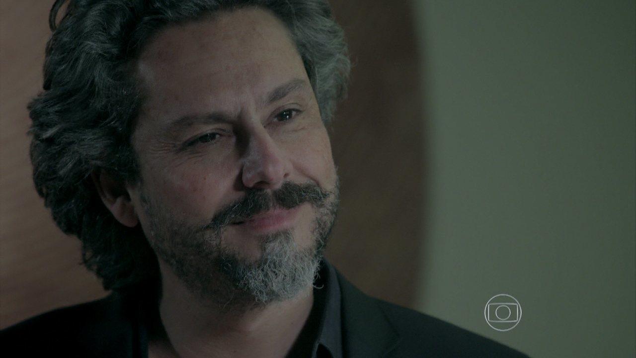 Império - capítulo de sábado, dia 11/10/2014, na integra - Maria Marta provoca José Alfredo e diz que tem um amante