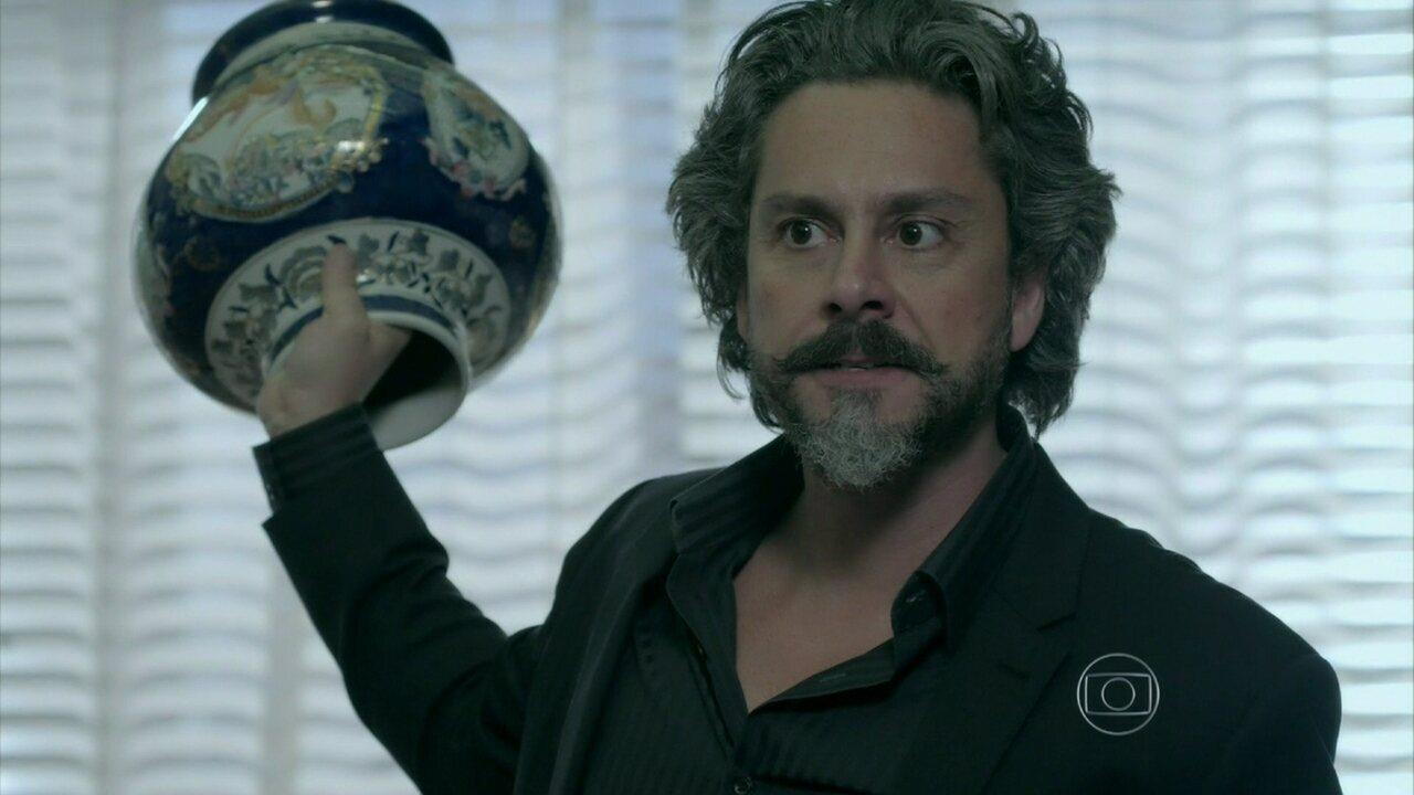 Império - Capítulo de quinta-feira, dia 16/10/2014, na íntegra - José Alfredo descobre que Maurílio é filho de Sebastião