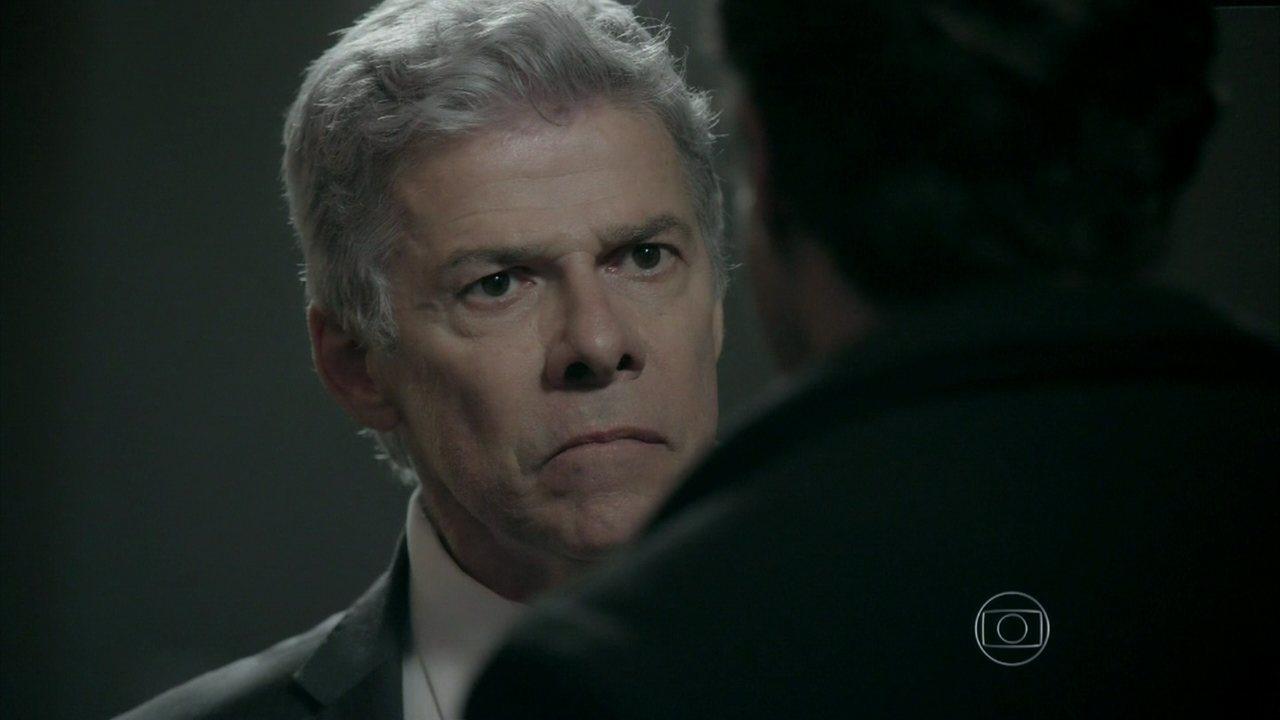 Império - Capítulo de quinta-feira, dia 23/10/2014, na íntegra - Claudio encontra Enrico no hotel