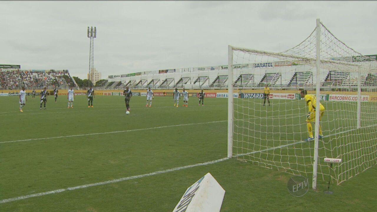 Ponte Preta vence Bragantino e conquista acesso para a Série A do Brasileirão