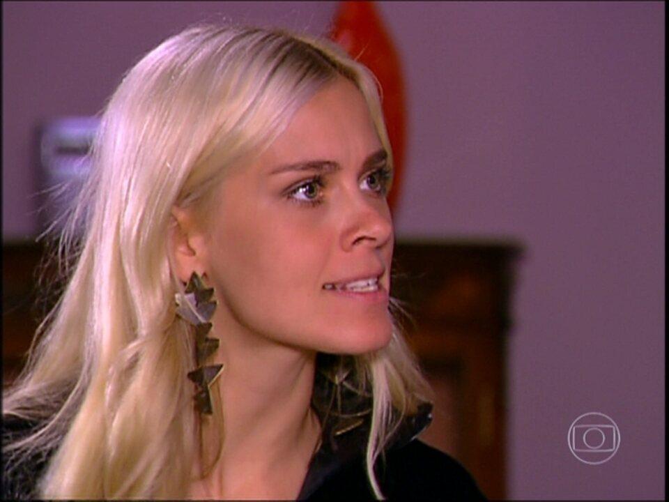Cobras e Lagartos - capítulo de terça-feira, dia 02/12/2014, na íntegra - Leona sugere matar Bel