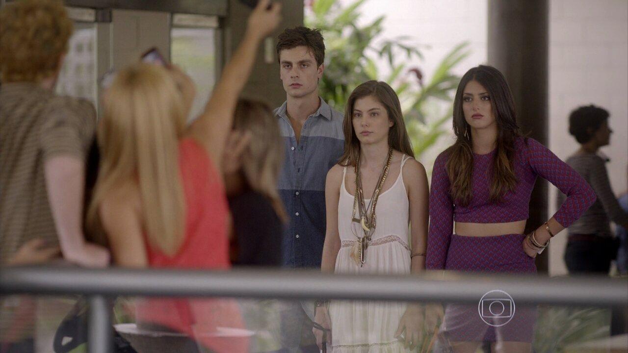 Malhação - capítulo de quinta-feira, dia 04/12/2014, na íntegra - Jade, Bianca e Lírio são expulsos do estúdio