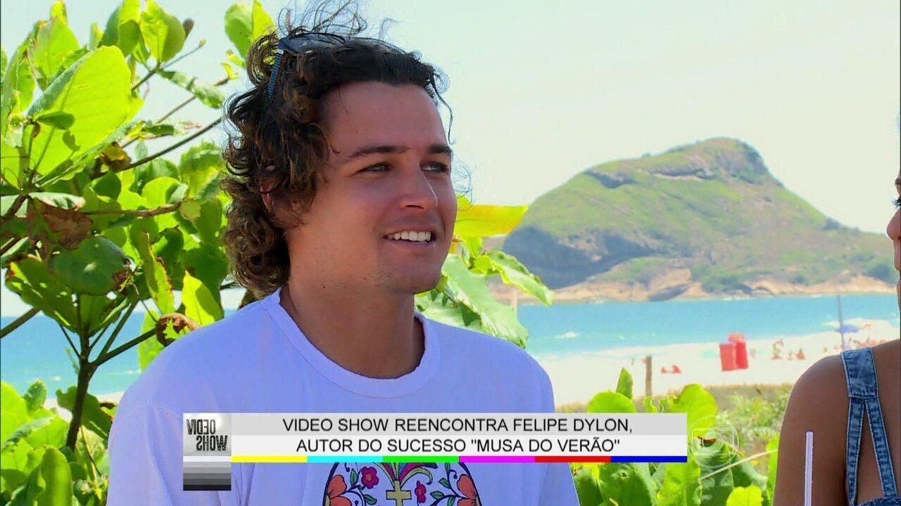 Felipe Dylon relembra sua participação no Dança dos Famosos