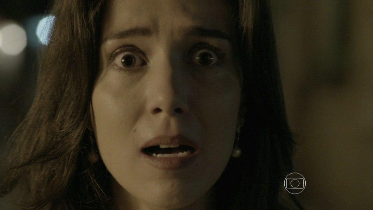 Império - Capítulo de quinta-feira, dia 01/01/2015, na íntegra - Cora vê José Alfredo