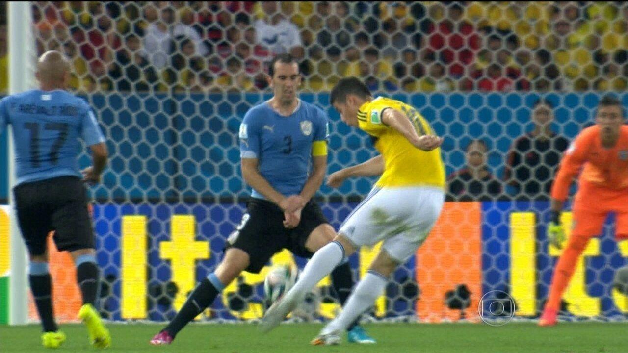 Gol de James Rodriguez na Copa do Mundo é eleito pela Fifa como mais bonito de 2014