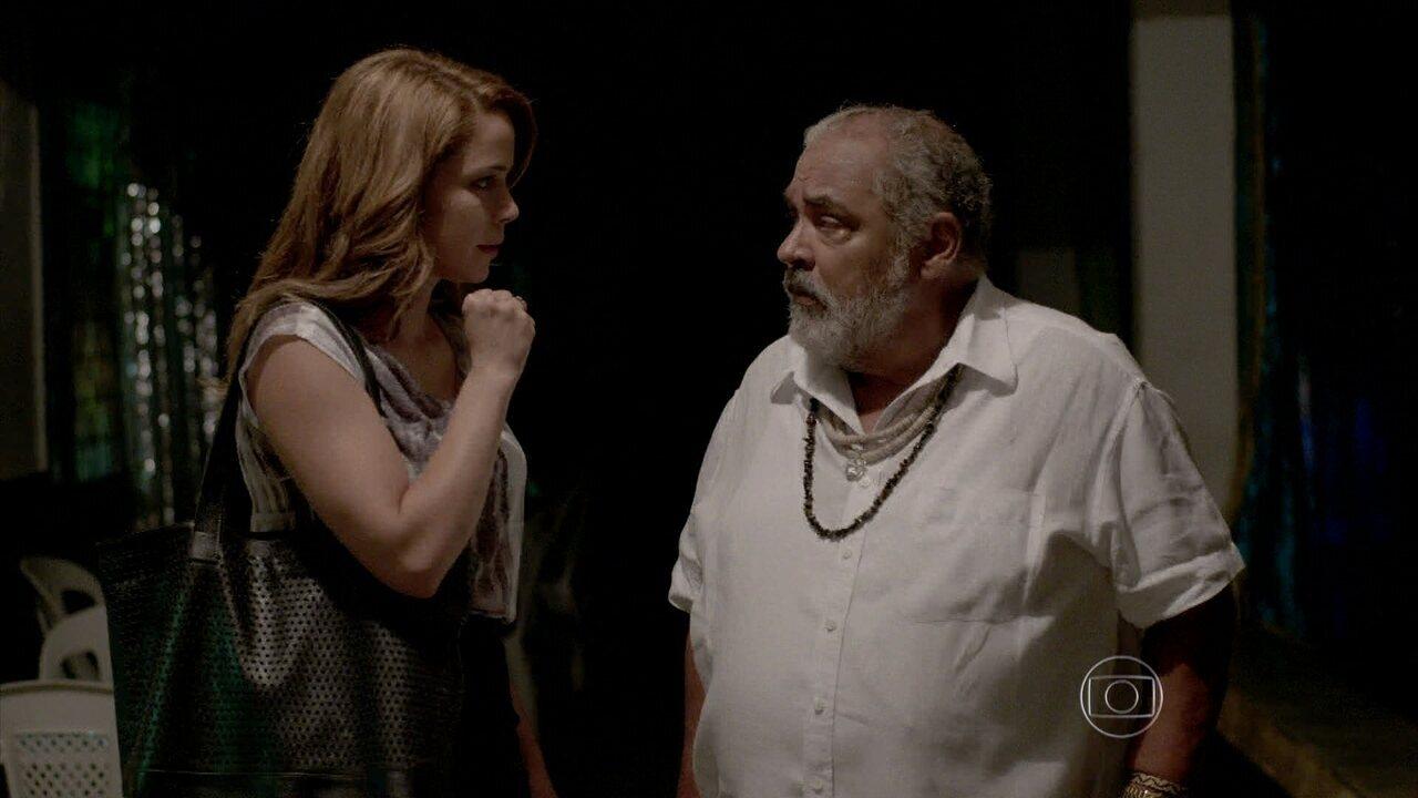 Império - Capítulo de sábado, dia 31/01/2015, na íntegra - Cristina e Antoninho conversam sobre novo esconderijo de Zé