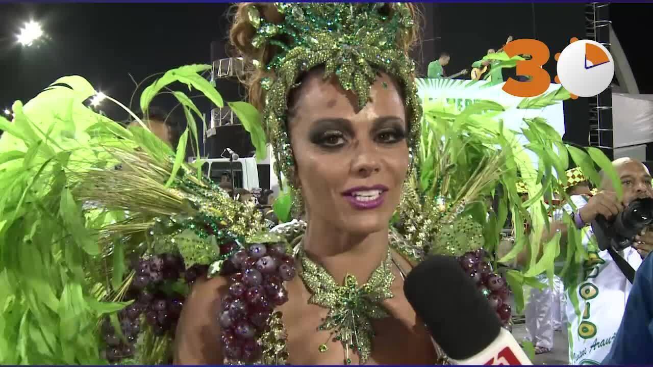 Desfile em 2015: Viviane Araújo diz que não quer deixar a Mancha Verde