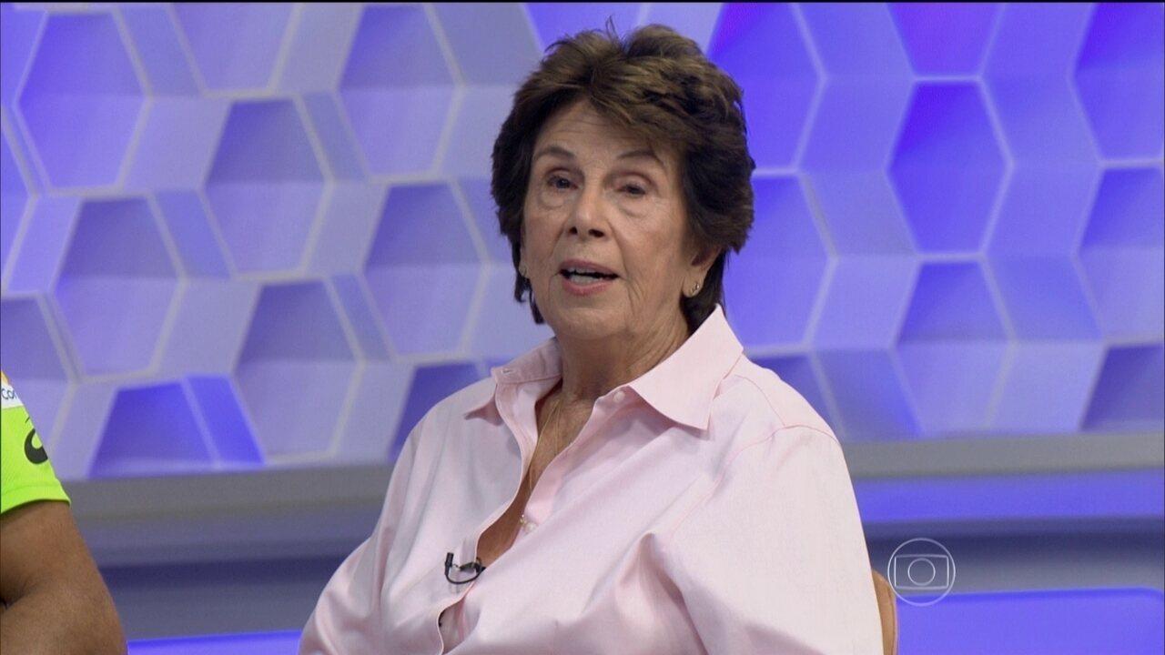 Maria Esther Bueno comenta sobre sua carreira e relembra Wimbledon: