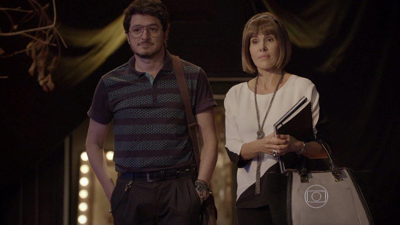 Malhação - capítulo de quarta-feira, dia 01/04/15, na íntegra - Edgard anuncia que João vai estrelar um comercial de TV