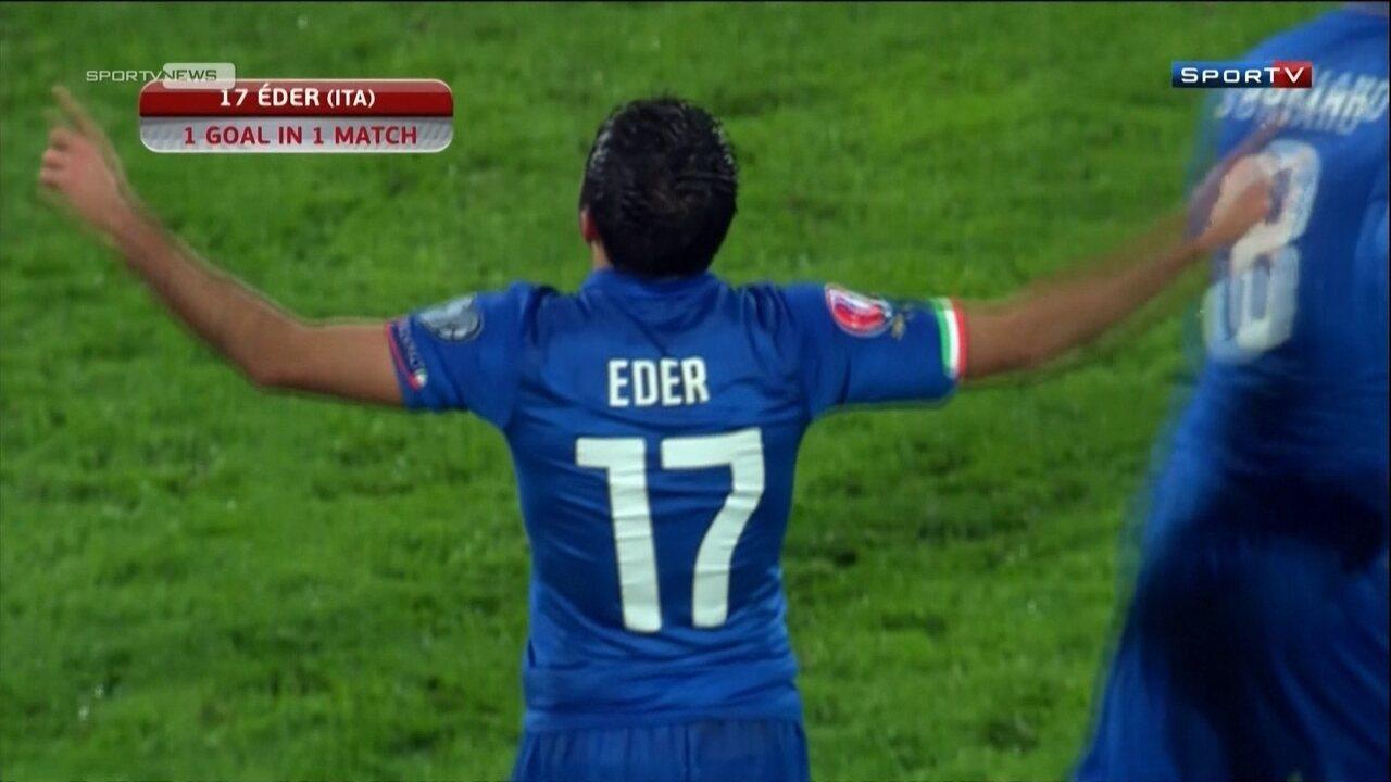 Relembre a trajetória do brasileiro Éder até chegar à seleção italiana