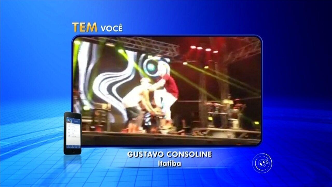 Cantor adolescente MC Gui cai no palco durante show em Itatiba