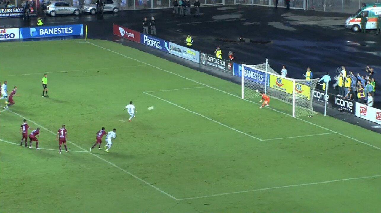 Os gols de Rio Branco-ES 1 x 1 Desportiva Ferroviária pelo Campeonato Capixaba 2015