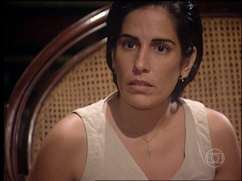 O Rei do Gado - capítulo de quinta-feira, 16/07/2015, na íntegra - Geremias confirma que Rafaela é uma Berdinazi