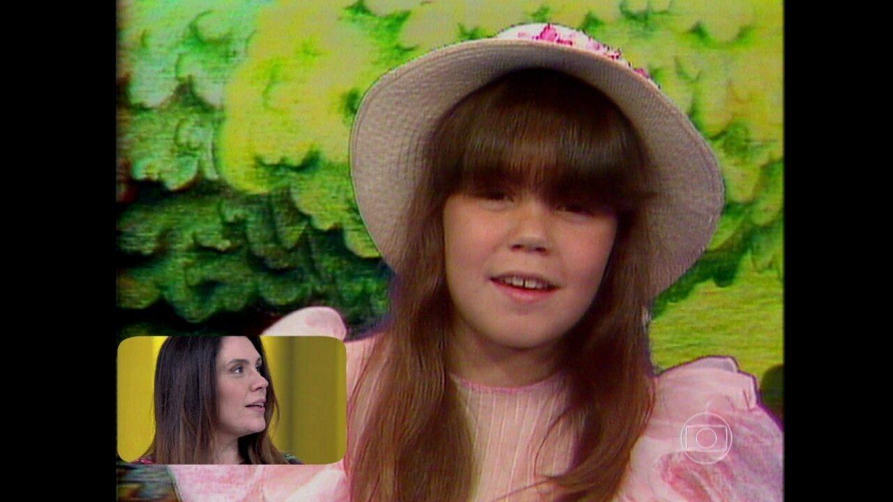 Relembre: Simony revê sua participação no Especial de Roberto Carlos em 1984 cantando 'É Tão Lindo'