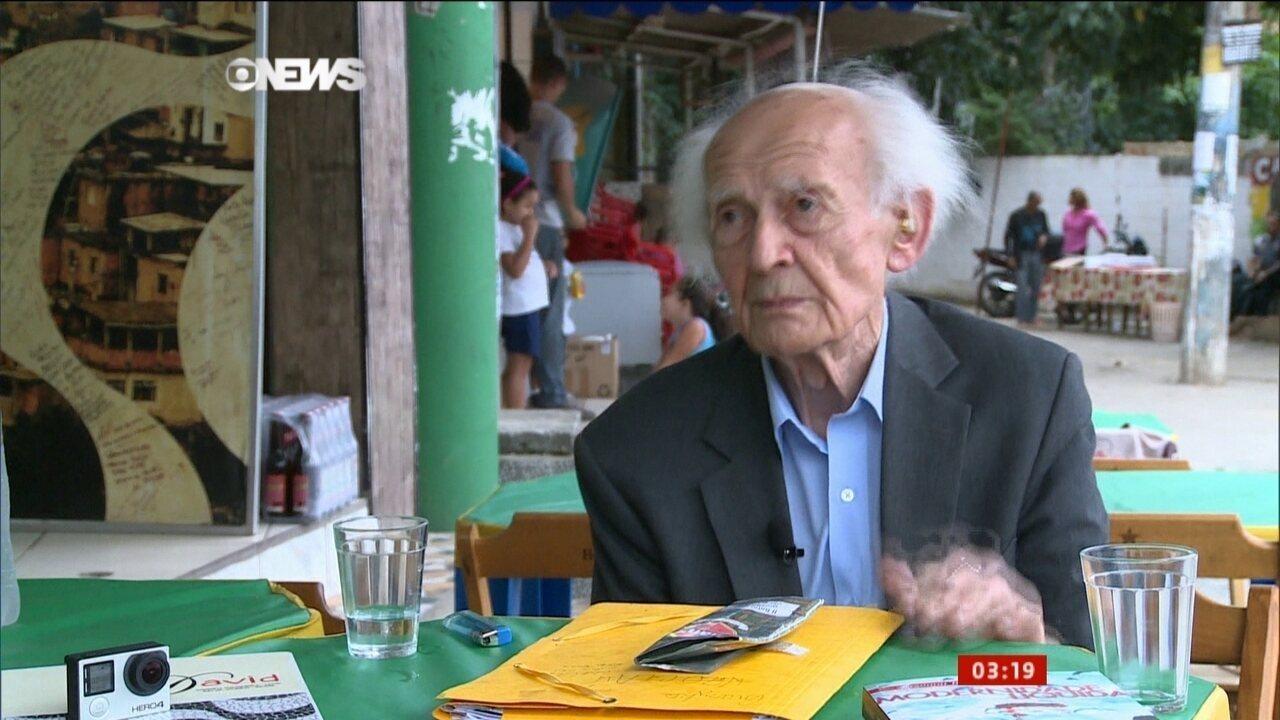 Sociólogo polonês Zygmunt Bauman discute rumos da educação na modernidade
