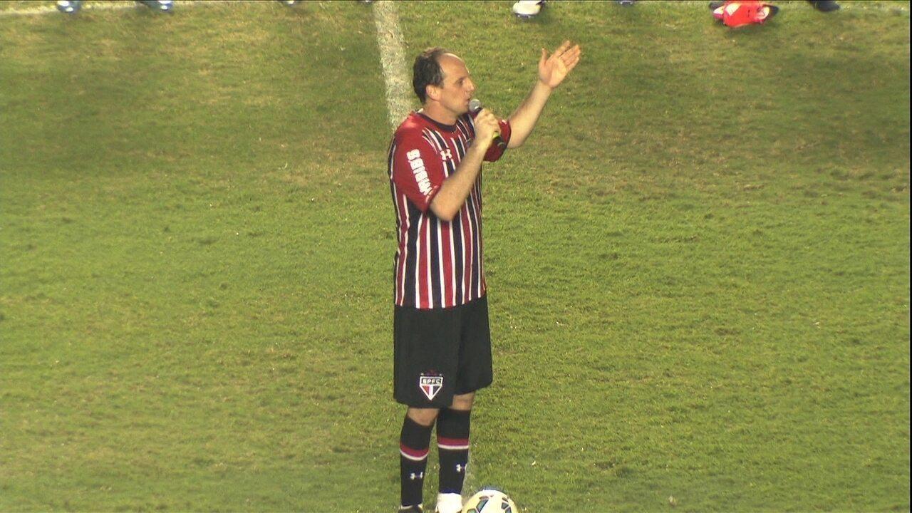 Adeus do M1to: saiba como foi a noite de despedida de Rogério Ceni do futebol