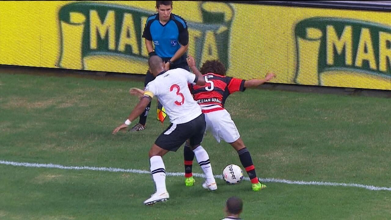 Melhores momentos: Flamengo 1 x 1 Vasco pela 4ª rodada da segunda fase do Cariocão 2016
