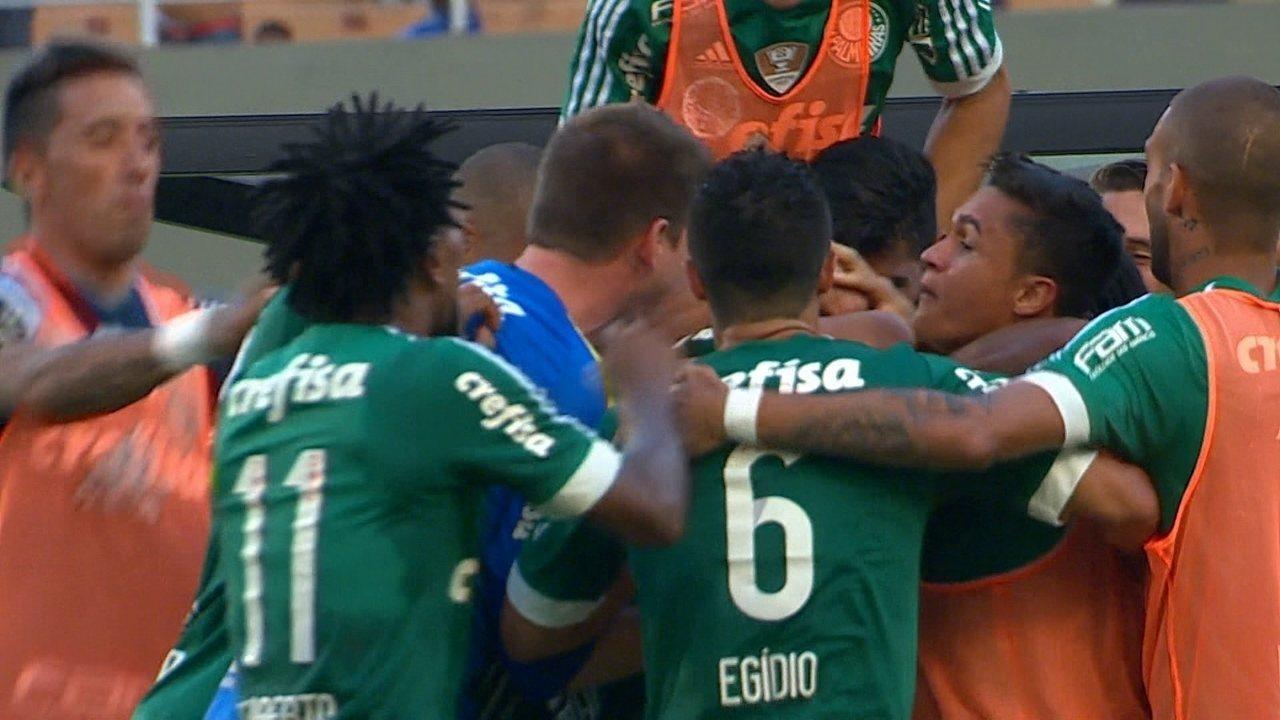 Melhores momentos de Palmeiras 1 x 0 Corinthians pela 14º rodada do Paulistão 2016