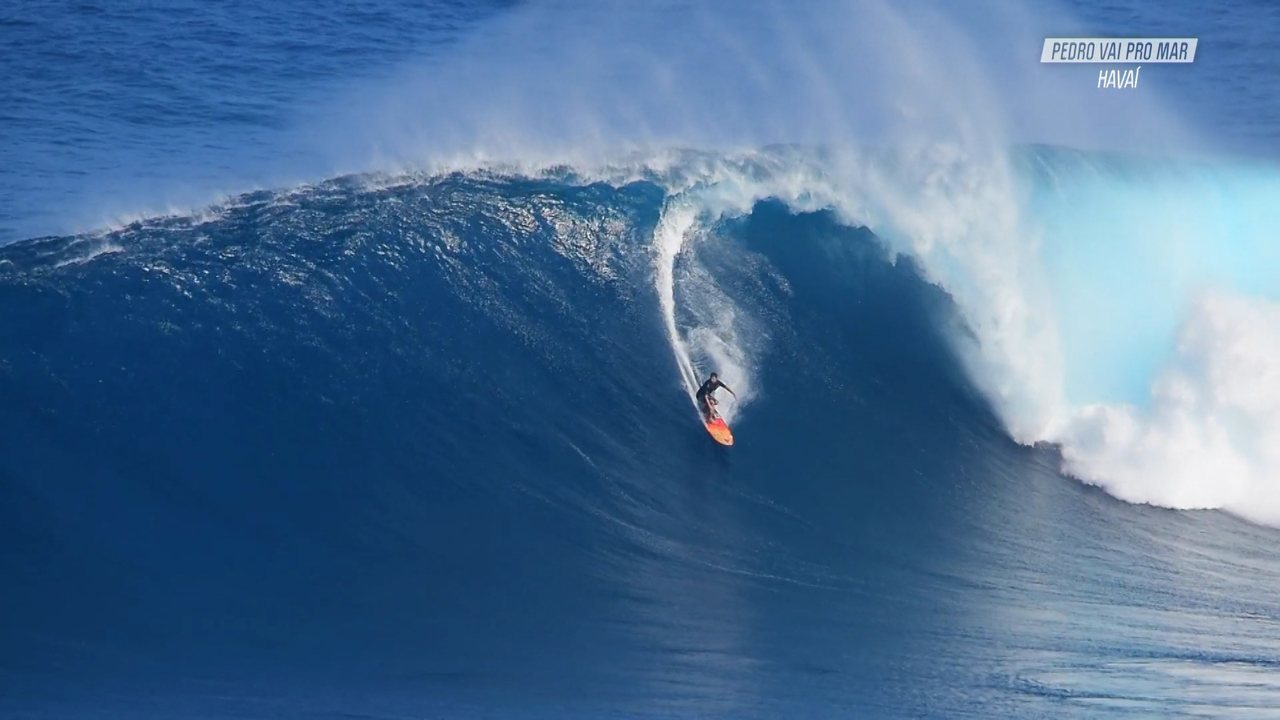 Incrível Swell Em Jaws