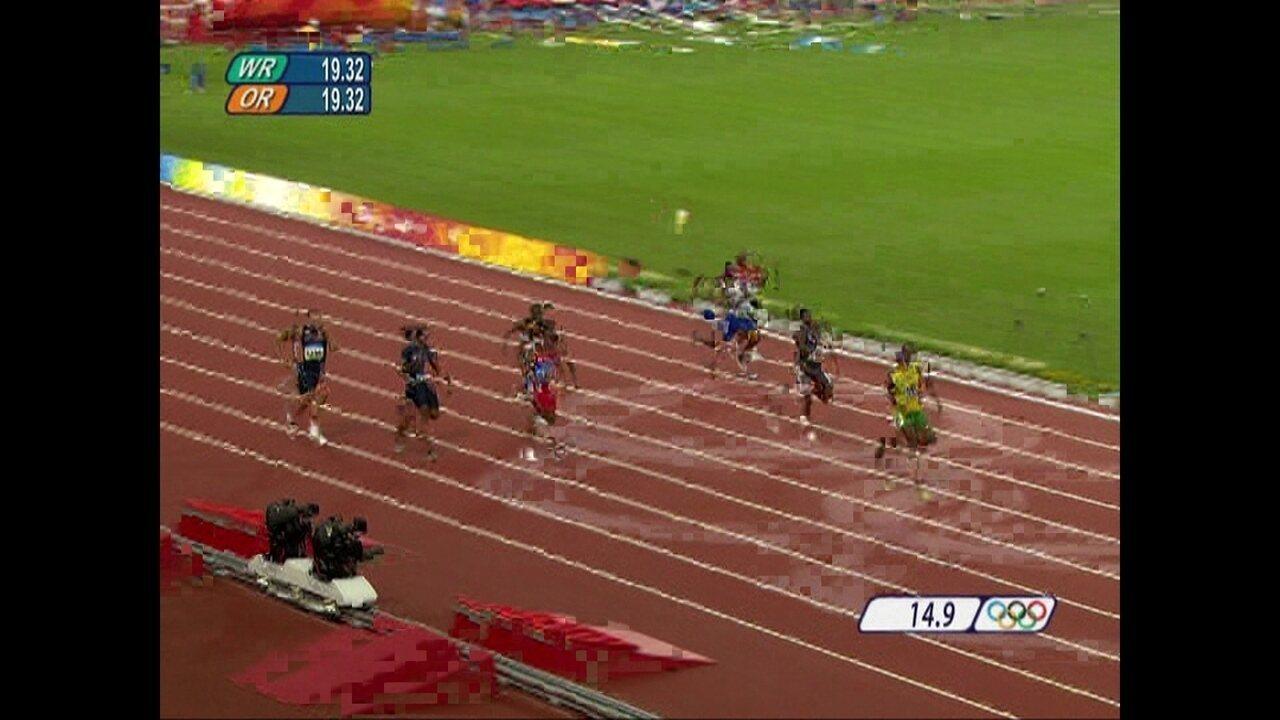 Pílulas Olímpicas: Usain Bolt conquista medalha de ouro nos 200m nas Olimpíadas de 2008