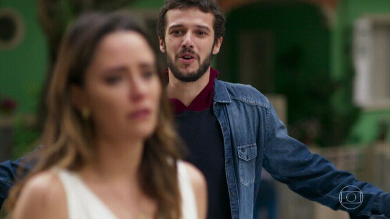 Haja Coração - Capítulo de sábado, dia 02/07/2016, na íntegra - Giovanni diz a Bruna que se afastará de Camila