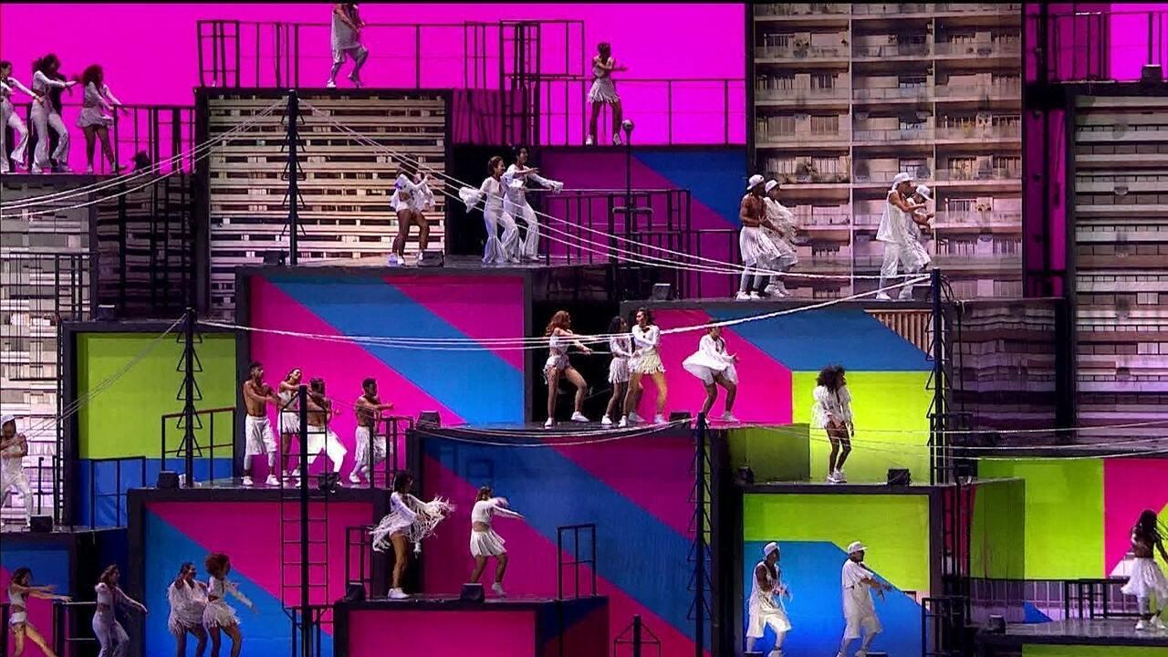 Festa de abertura da Olimpíada oferece espetáculo de cores, dança e atrações musicais