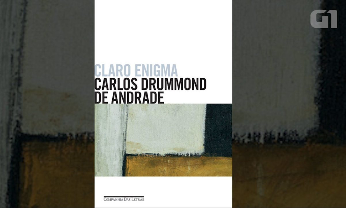 Livros da Fuvest: veja videoaula sobre Claro Enigma, de Carlos Drummond de Andrade