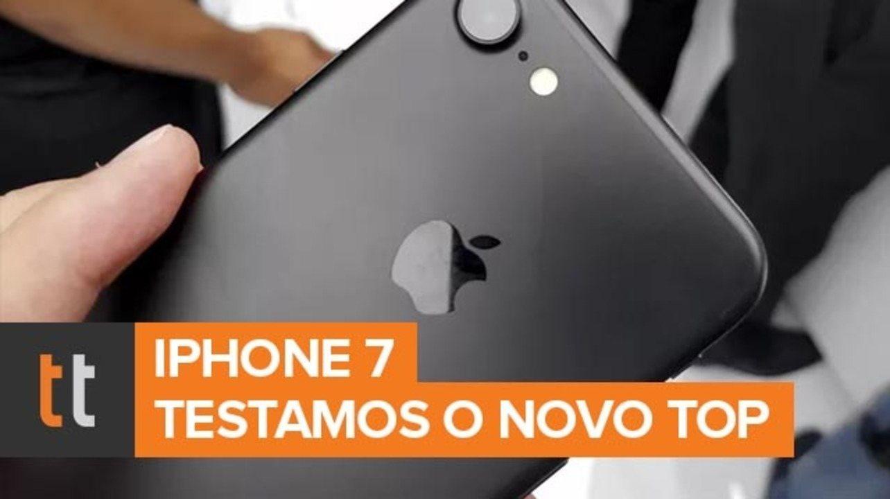 iPhone 7: a gente foi aos Estados Unidos acompanhar o lançamento do smartphone, em 2016