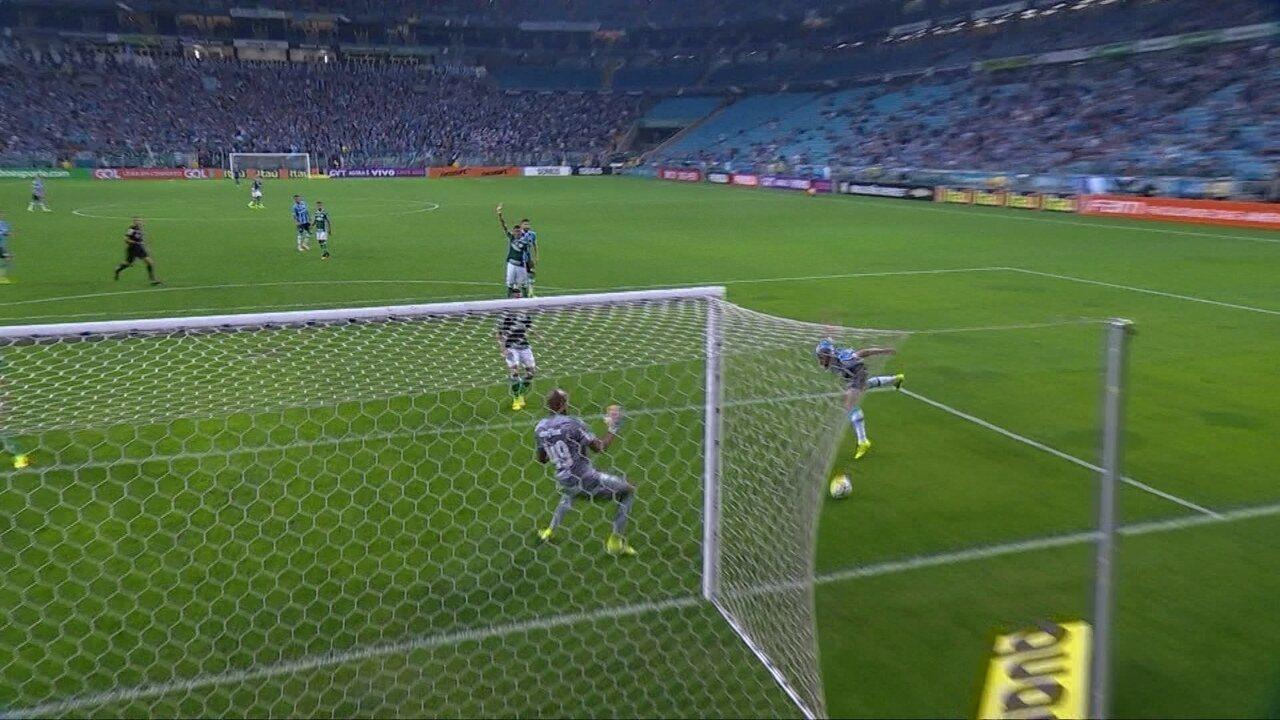 Melhores momentos de Grêmio 0x0 Palmeiras pela 24ª rodada do Brasileirão