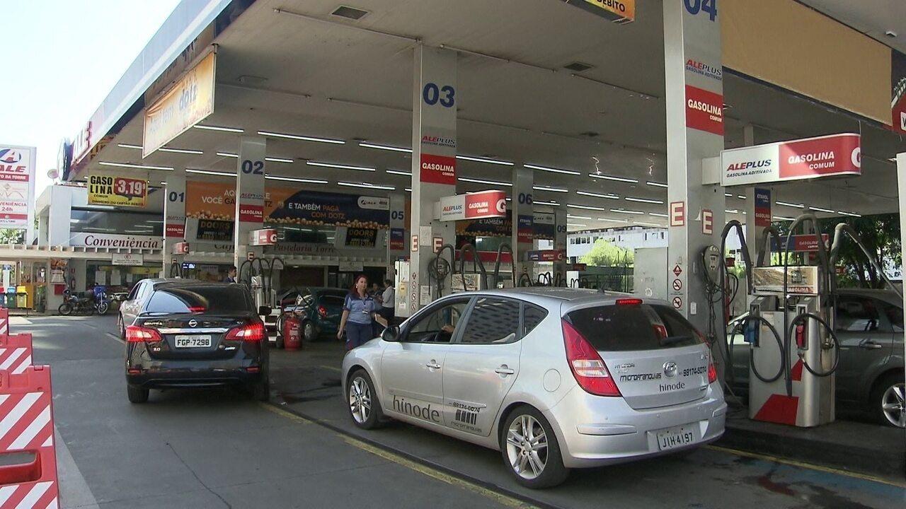 Dftv 1 edi o motoristas percorrem o df para encontrar for Gasolina barata tenerife