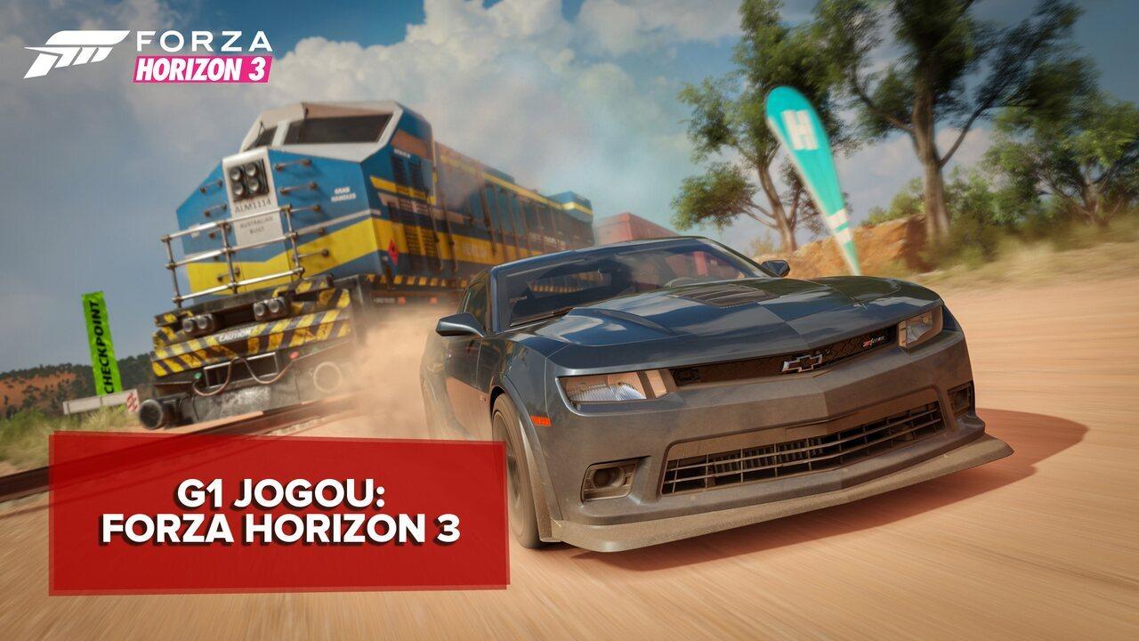 'Forza Horizon 3' é Lollapalooza dos games de corrida; G1 jogou
