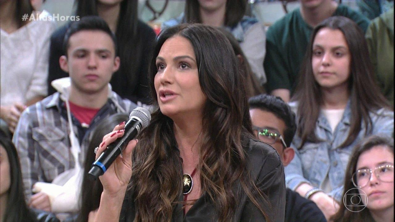 Luiza Brunet conta que sofreu bullying