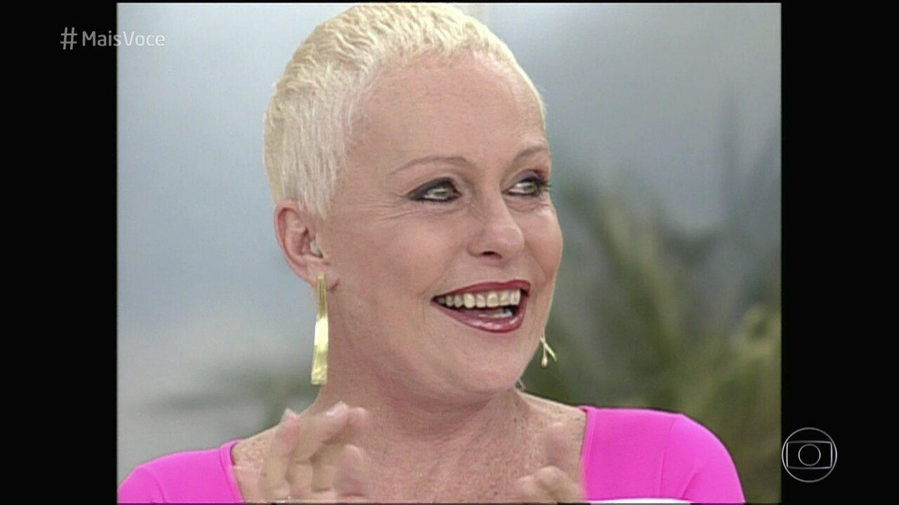 Ana Maria confessa dificuldade para raspar a cabeça quando descobriu o câncer