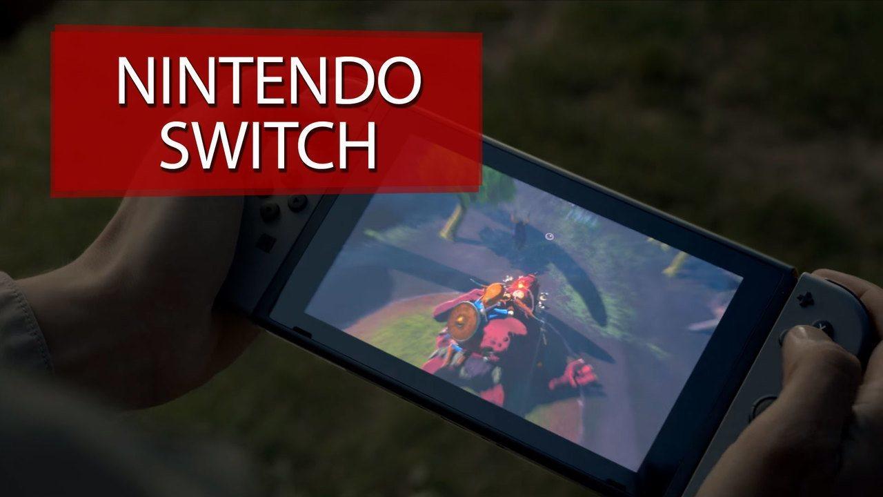 Novo videogame Nintendo Switch chega às lojas dos EUA