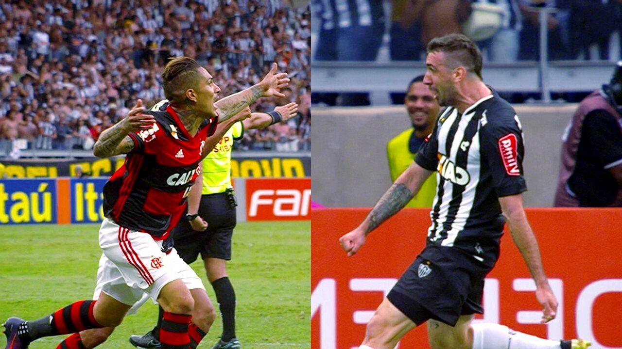 Melhores momentos: Atlético-Mg 2 x 2 Flamengo pela 33ª rodada do Brasileirão