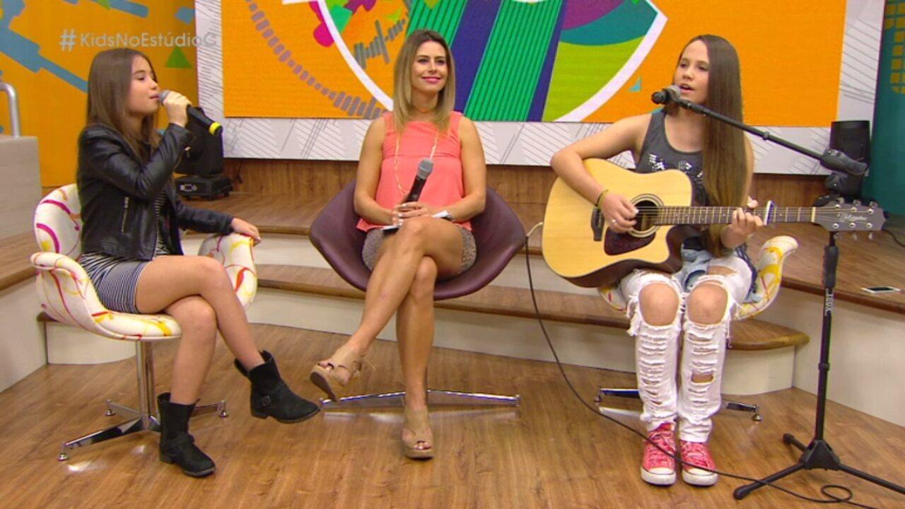 Só na web: veja o papo com Carol Passos e Mari Cardoso, ex-The Voice Kids