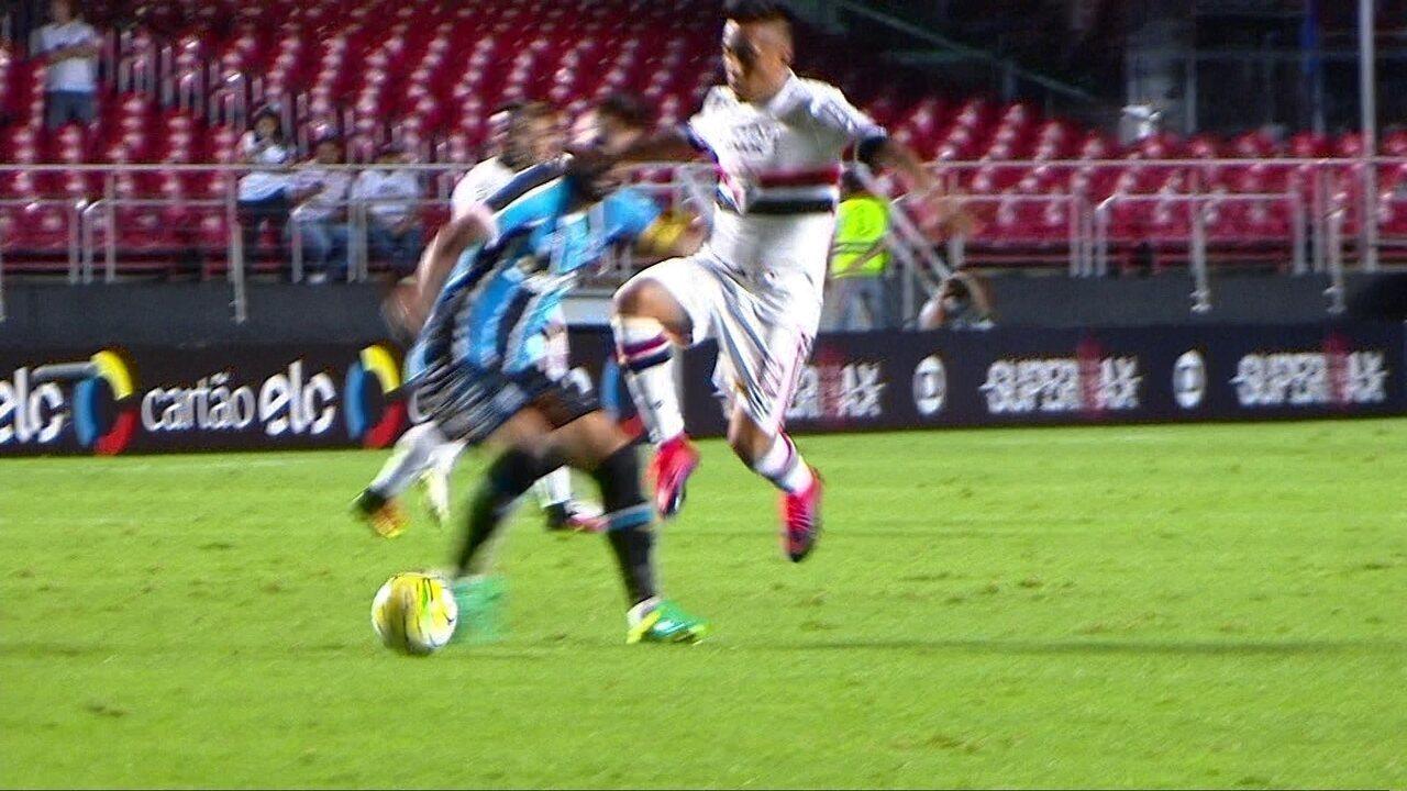 Resumen: Sao Paulo 1 x 1 Gremio en la 35a jornada de la Liga Brasileña