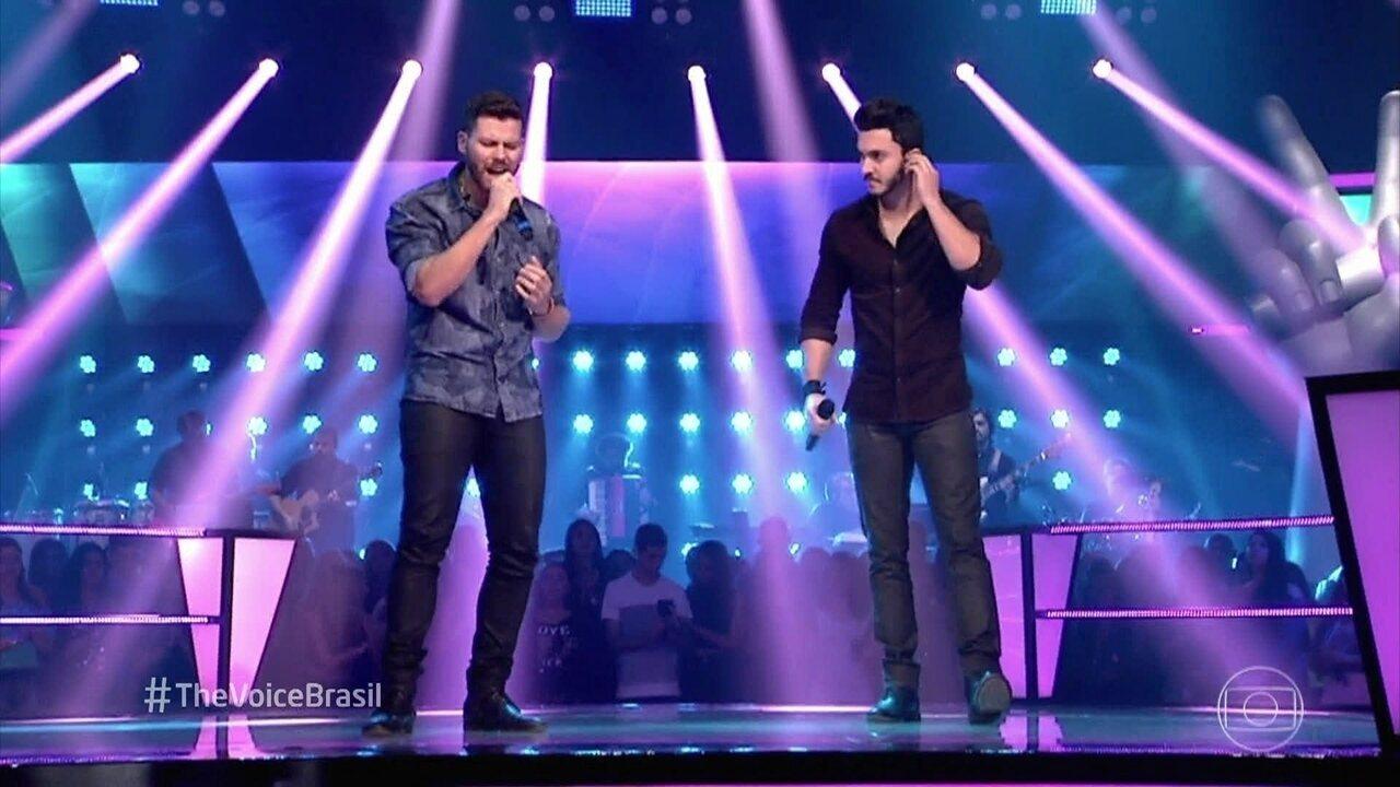 """Gabriel Correa e Luiz Otávio Reis cantam """"Implorando Pra Trair"""""""