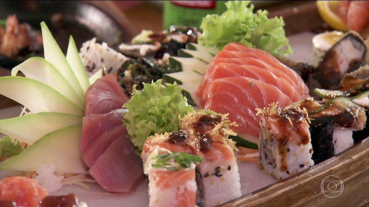Arroz e shoyo são os grandes vilões na culinária japonesa